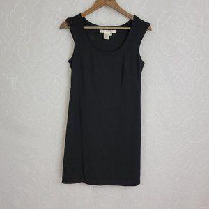 Studio M Sleeveless Solid Black Dress Sz. S